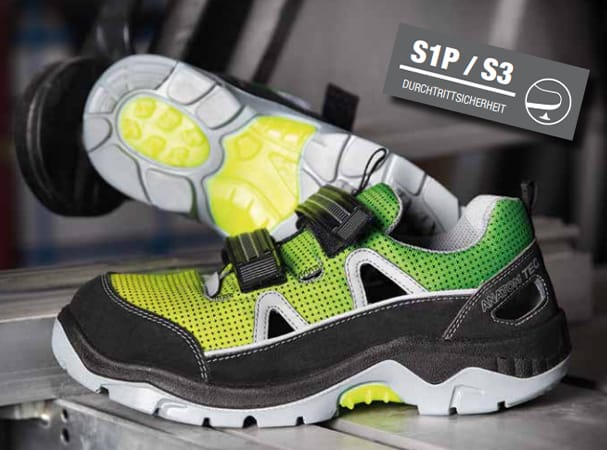 Abeba occupational and safety shoes