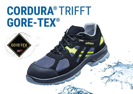 Atlas Cordura trifft Gore-Tex