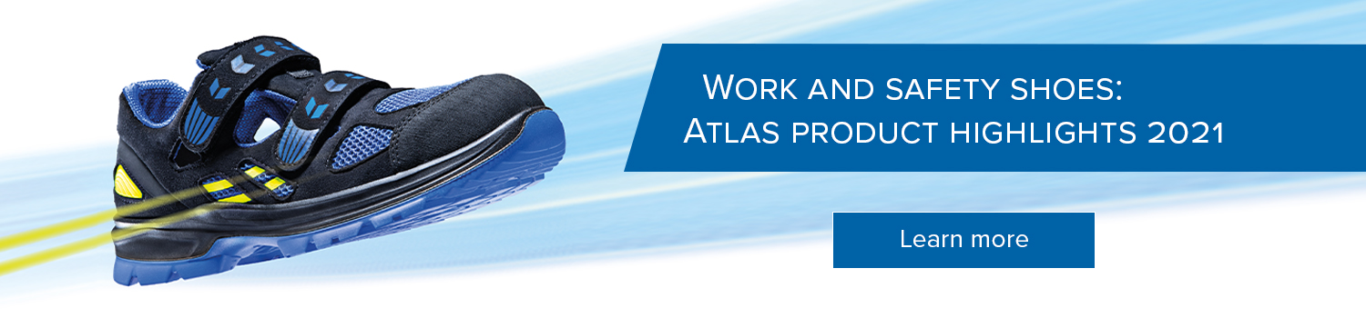 Atlas work and safety shoes 2021