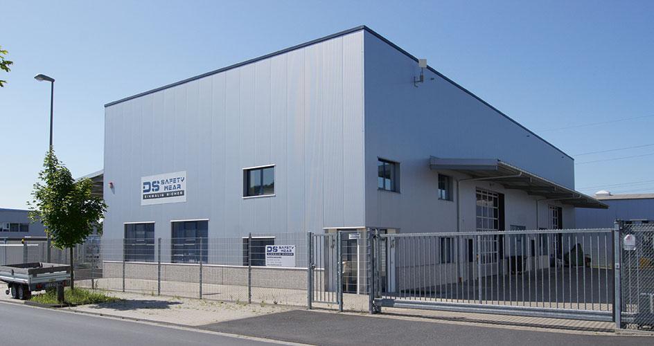 DS Safety Wear Gebäude
