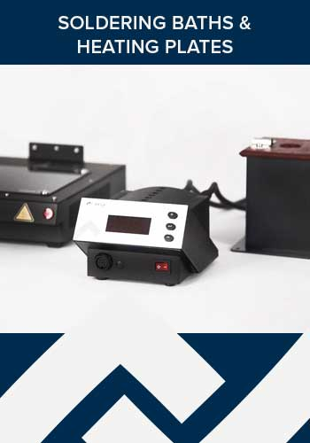 ERSA soldering baths and heating plates