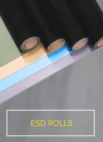 ESD Safeguard rolls