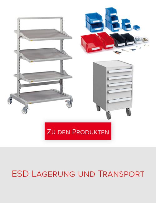 Treston - ESD Lagerung und Transport