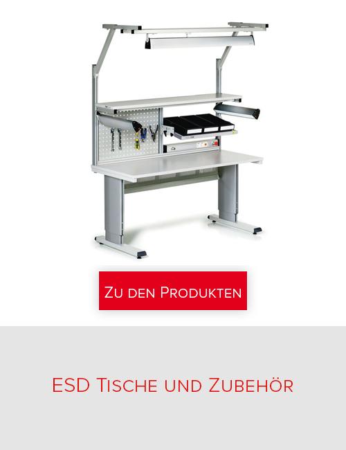 Treston - ESD Tische und Zubehör