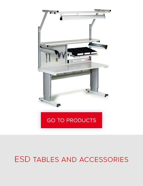 Treston - ESD tables and accessories