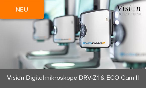 Vision Engineering - Neue Digitalmikroskope DRV-Z1 und ECO Cam 2